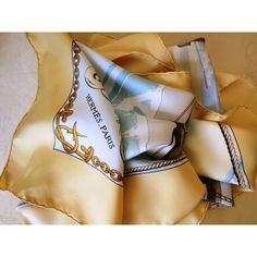 seta, écharpe, tuch, scarf, Foulard Carré en Soie, pas cher, seidentuch,  hermès, GRONLAND d7df2d4c528