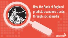 Predicting economic trends based on social conversations is an idea of seeing a real-life example of social media monitoring in the finance industry