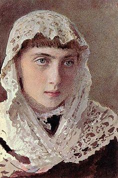 Portrait S.I. Kramskoy, 1880  Ivan Kramskoy