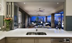 Jason Windows Have Been Supplying WA With Quality Security Screens, Doors & Windows. Jason Windows Offices Are Located In Perth & Bunbury Outdoor Kitchen Plans, Indoor Outdoor Kitchen, Outdoor Rooms, Outdoor Living, Stacker Doors, Display Homes, New Home Designs, Bars For Home, Perth