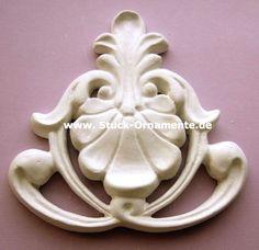 Wandtattoo - Echter Stuck - Stuck Ornament Jugendstil - ein Designerstück von RC-Stilmoebel bei DaWanda