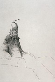 Figura II (1997) Plancha 35 x 50 Cm. Papel 50 x 65 Cm.