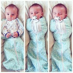 The Woombie is the safest, most natural way to swaddle your baby...I need this for the next baby