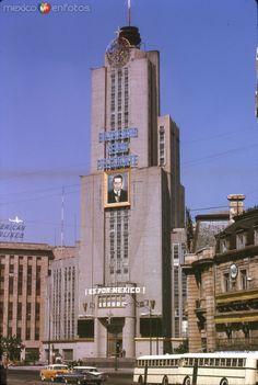 Torre de la Lotería Nacional (1962) - Fotos de Ciudad de México, Distrito Federal, México
