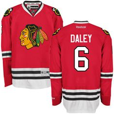 Get this Chicago Blackhawks Trevor Daley Red Premier Jersey w/ Authentic Lettering at ChicagoTeamStore.com