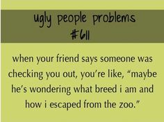 Ugly People Problem (a.k.a TMC problem #653)