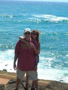 Us in Kauaii, Hawaii