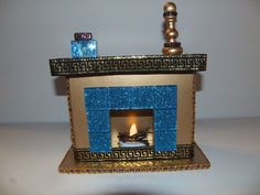 Monster High Doll Furniture Egyptian Light Up Fireplace with Accessories | eBay
