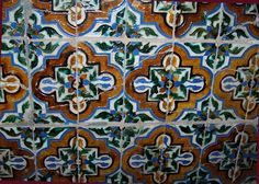 In Sevilla! Spanish Tile, Quilts, Blanket, My Love, My Style, Sevilla, Quilt Sets, Quilt, Rug