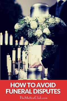 When someone dies, it's easy for emotions to get in the way if there are already tensions in place. Here's how to avoid disputes about funerals in advance - because that's the last thing anyone want to fight about! Read this now or pin for later! When Someone Dies, Funeral Arrangements, Aging Parents, Fashion And Beauty Tips, It's Easy, Families, Beauty Hacks, Club, Beauty Tricks