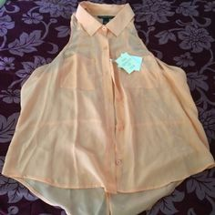 VICTORIA'S SECRET Silk Top Brand new! Light weight. True color is shown in picture 3. Victoria's Secret Tops Blouses