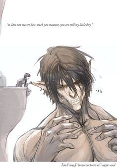 You are still my little boy Eren.