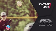 In the Vintage look we will create a retro look by mixing in a few filters and some basic tonality. First let's set the tone and color inside of Develop. From there we will stir.