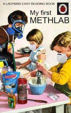 Chemistry Twisted Humor, Funny Jokes, Funniest Jokes, Hilarious Stuff, Funny Sayings, Children's Books, Kid Books, Meth Lab, Vintage Ads