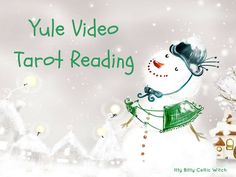 YULE TAROT READING | Intuitive Tarot Reading for the Winter Solstice, Video Reading Sent Within 2 Days, Yule Gifts, Unique Gifts by IttyBittyCelticWitch on Etsy