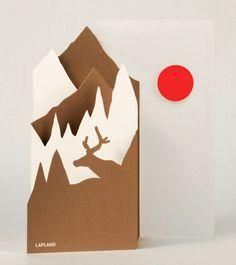 Lapland Landscape Card $8.95 NZD