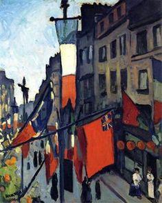 Paris, 1906 / Albert Marquet, a Fauve painter and a lifelong friend of Henri Matisse. Henri Matisse, Rio Sena, Raoul Dufy, Academic Art, Georges Braque, Le Havre, Post Impressionism, Andre Derain, Art Database