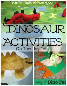 Learn with Play @ home: Dinosaur Activities on Tuesday Tots