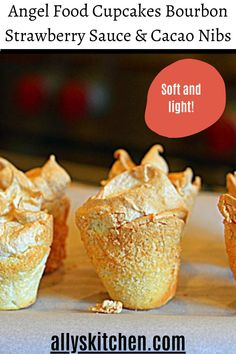 Learn how to make the best angel food cupcakes. This recipe is very easy and better than any store bought cake mix. Give us a visit today! #easycupcake #cupcakerecipe Homemade Desserts, Easy Desserts, Sweet Recipes, Easy Recipes, Angel Food Cupcakes, My Favorite Food, Favorite Recipes, Food Cakes, Cakes And More