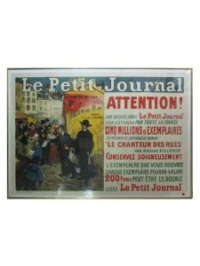 """Le Petit Journal: Attention!"" by Pierre Gourdault, 1910-1915.  #lhx #lhexchange #lesliehindman"