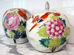 Chinese Pottery  from Patricia Shackelford, the voice of the blog Mrs. Blandings.