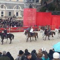 Carnevale romano con la Fanfara della Polizia