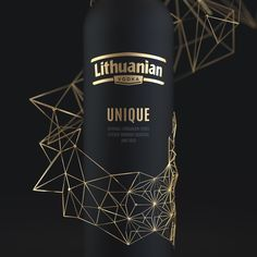 Lithuanian Vodka Unique on Packaging of the World - Creative Package Design Gallery