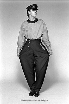 RIP Steve Strange - wearing constructivist fashion by Modern Classics
