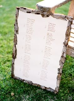 guest book, place card, stationery