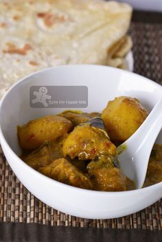 Bake for Happy Kids: Nonya Chicken Curry with Roti Canai