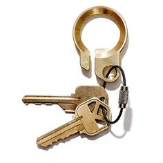Products we like / Keyring / Brass / Hipster / The Brass Key Ring