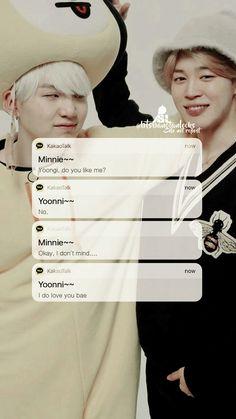 This is so true Yoonmin Fanart, Taekook, Taehyung, Namjoon, Bts Texts, I Do Love You, Kpop, Teen Life, Yoongi