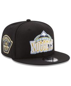new style cc25c 47b6a New Era Denver Nuggets All Metallic Hoops 9FIFTY Snapback Cap   Reviews -  Sports Fan Shop By Lids - Men - Macy s