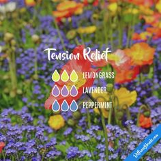 Tension Relief - Essential Oil Diffuser Blend