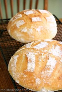 How to Make Perfect Artisan Bread {Step by Step Instructions and Pictures} ~ http://reallifedinner.com