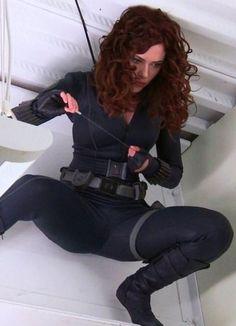 Scarlett Johansson as the Black Widow Marvel Women, Marvel Girls, Marvel Heroes, Marvel Dc, Marvel Comics, Black Widow Scarlett, Black Widow Natasha, Super Héroine Marvel, Heroine Marvel
