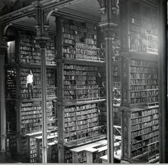 The Vast Hall of The Public Library of Cincinnati