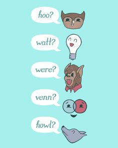 A Walk in the WoRds: Inquisitive Homophones