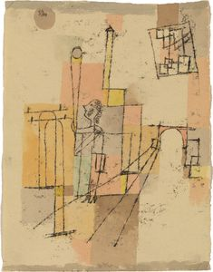 Before the Festivity by Paul Klee, 1920
