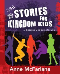 This year-long devotional of life application stories makes the Bible relevant to the lives of modern kids. Each one-page story is supplemented by a memory Scripture verse to get kids thinking & also ties in with the story's central message. The stories are good combination of stories inspired by true historical events and delightfully enjoyable fables - all teaching important life lessons. Anne McFarlane @ R130-00 in Afrikaans & English.
