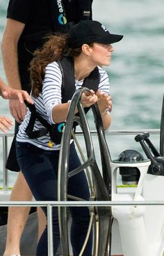 Pin for Later: Sorry Wills! Kate Middleton Beats the Prince During a Friendly Race
