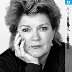 Kate Mulgrew. The creative faces project -Artists inspiring the New York Stage, An Evolving Portrait Collective NYC. 2013