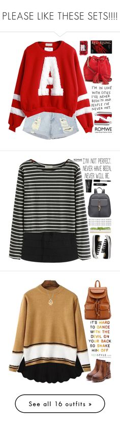 """""""PLEASE LIKE THESE SETS!!!!"""" by scarlett-morwenna ❤ liked on Polyvore featuring Converse, Rebecca Minkoff, women's clothing, women, female, woman, misses, juniors, redrising and Bambeco"""