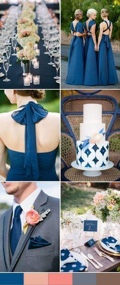 blue wedding color trends for 2016 spring - Wedding Colors Trendy Wedding, Dream Wedding, Wedding Day, Wedding Blue, Chanel Wedding, Wedding Unique, Blue Weddings, Wedding Stuff, Wedding Themes