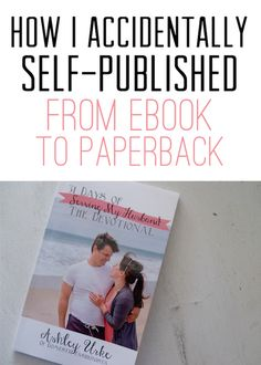 Domestic Fashionista : How I Accidentally Self-Published: Creating a Paperback Book From an Ebook