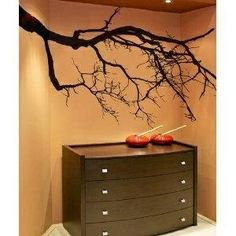 I found 'Vinyl Wall Decal Sticker Spooky Tree Top Branches - Gothic Home Decor' on Wish, check it out!