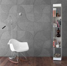 Modern wall decor brand brand Submaterial has recently re-imagined their most popular wall hanging patterns into wool felt and cork wall coverings.