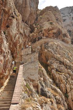 Scala del capriolo (654 steps) Tramariglio, Sardinia, Italy