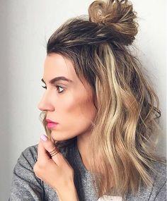 coque - Penteados estilosos Insta: @crisfeelix   http://www.crisfelix.com.br/2016/08/top-5-penteados-estilosos-para-testar.html