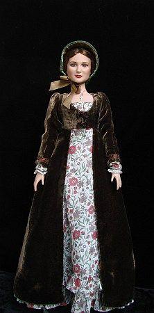 Evangeline regency walking dress (ca 1805-1812)